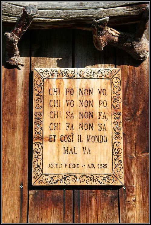 A hardly translatable wisdom!
