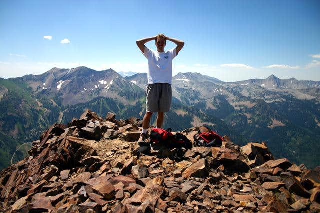 Monte Cristo summit, looking...