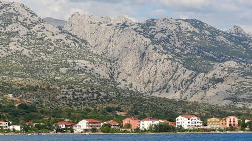 Mala Paklenica from Starigrad