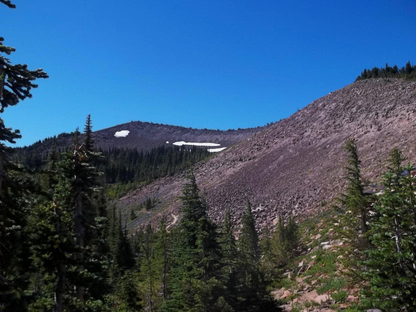 Hogback Ridges near Mora, NM (vertical) - Geology Pics