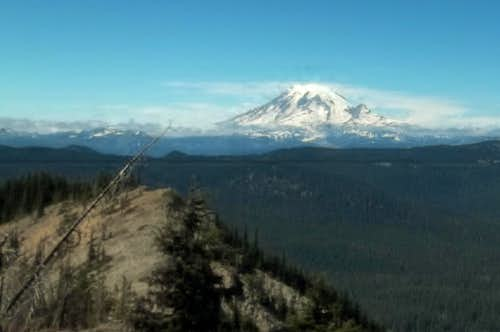 Mount Rainier and the west summit of Twin Peaks