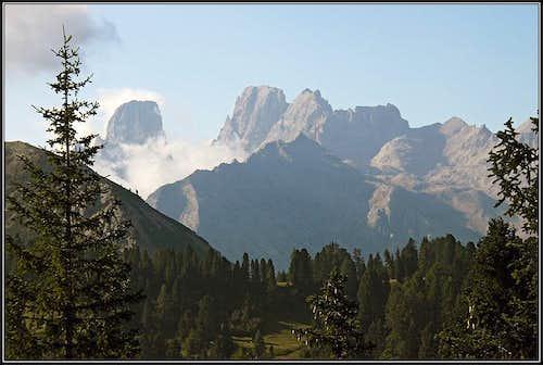 Monte Cristallo from Platzwiese / Prato Piazza