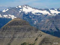 Blackfoot Mountain and Pumpelly Glacier