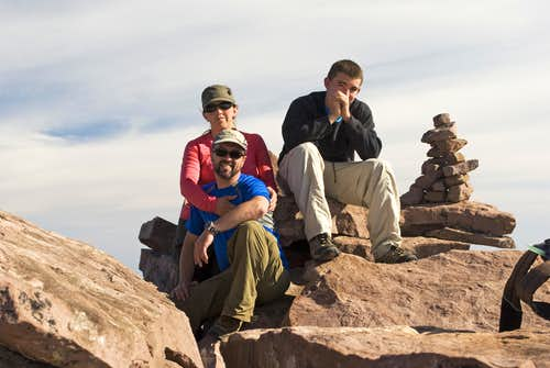 Kings Peak summit!