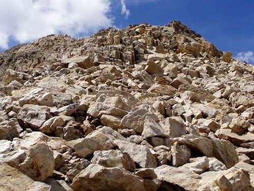 The North-East ridge of Mt....