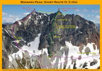 Bonanza Peak, Soviet Route (possible 3rd ascent)
