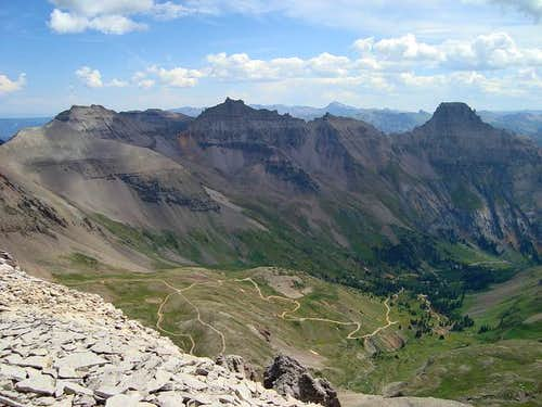 Yankee Boy Basin Views