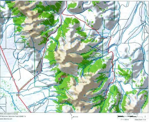 Pahsimeroi River Access Map