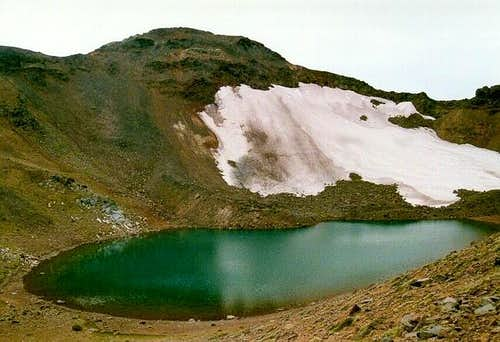 Legore Lake from the north...