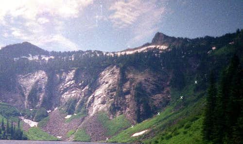 Static Peak from Big Greider Lake