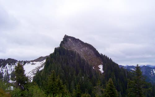 Static Peak from Greider Peak
