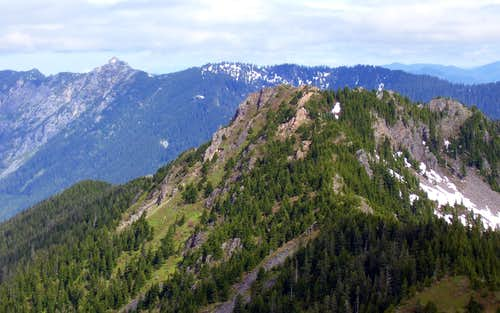 Greider Peak from Static Peak