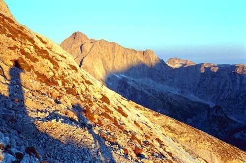 Hochkalter massif seen from...