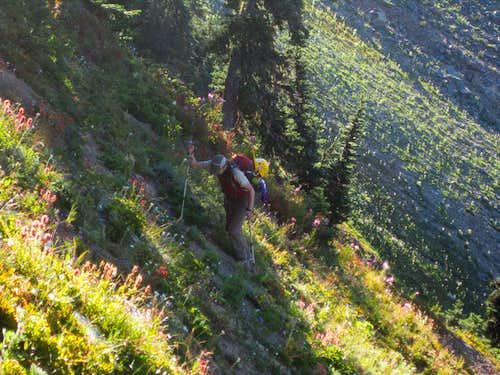 Off-trail pass Gargett Mine