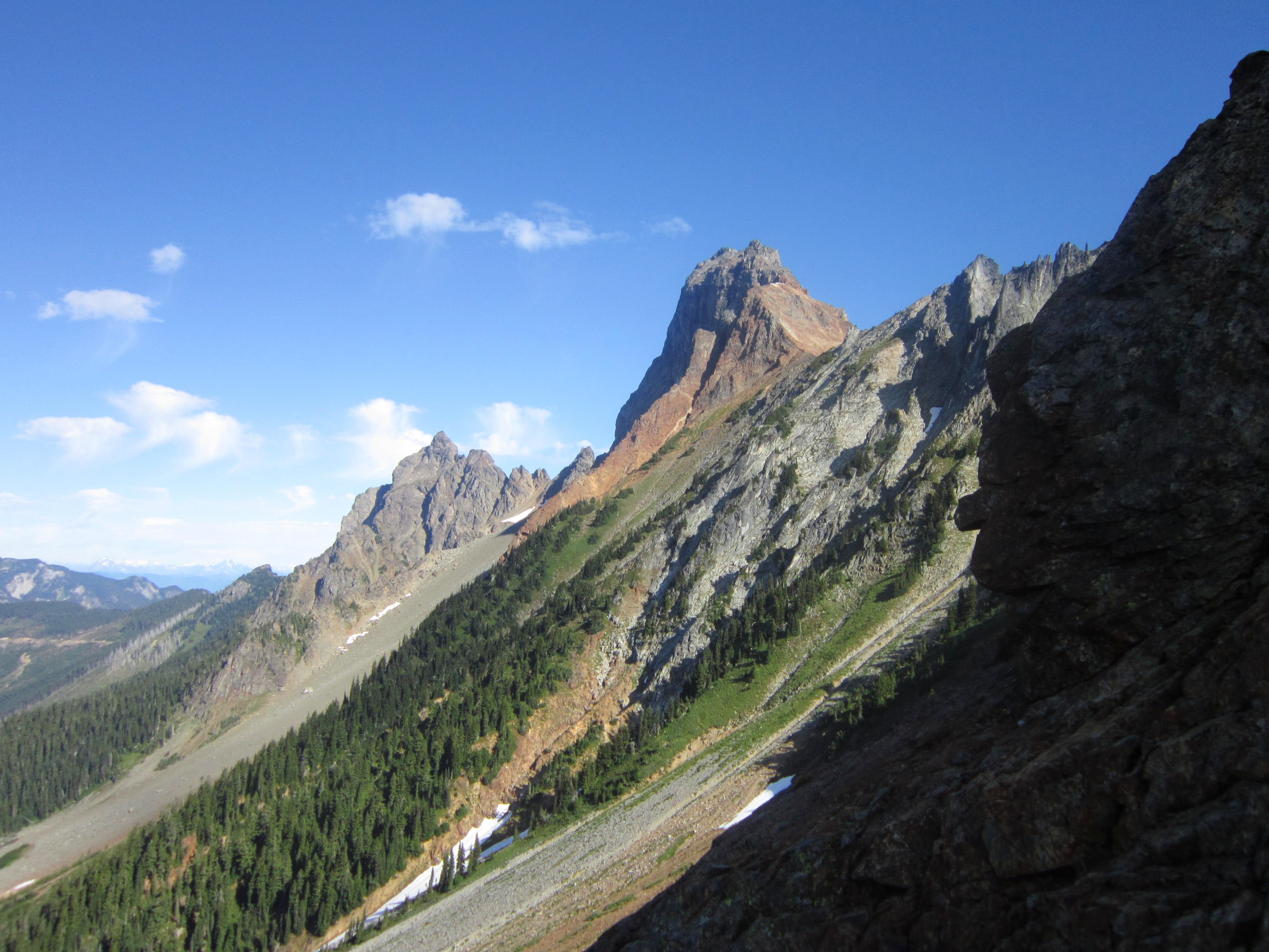 American Border Peak - Southeast Face route