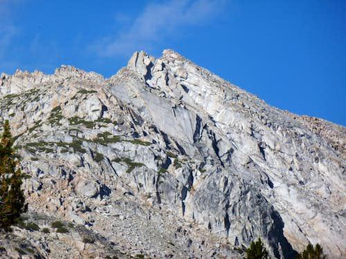 Zoom shot of White Mountain