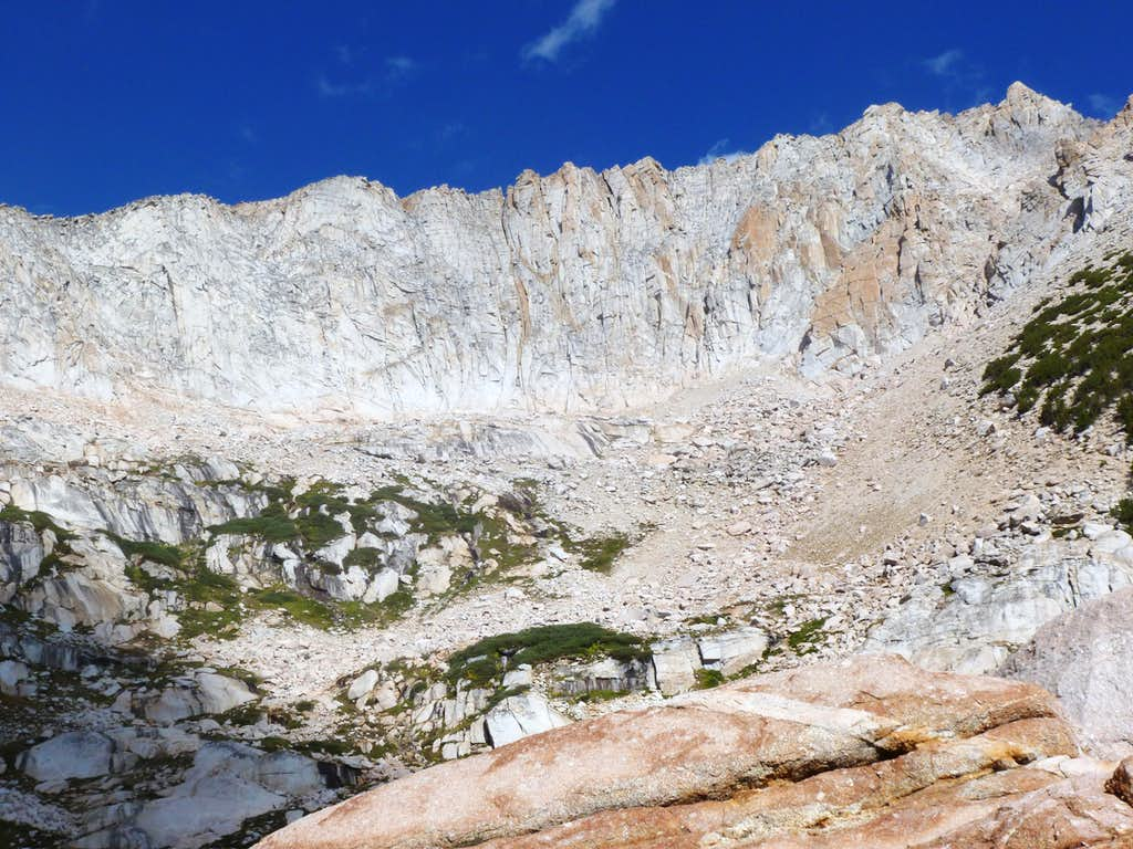 The Conness Plateau above us, from near