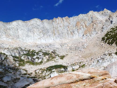"The Conness Plateau above us, from near ""The Gateway"""