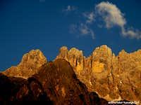 Torre di Valgrande at sunset