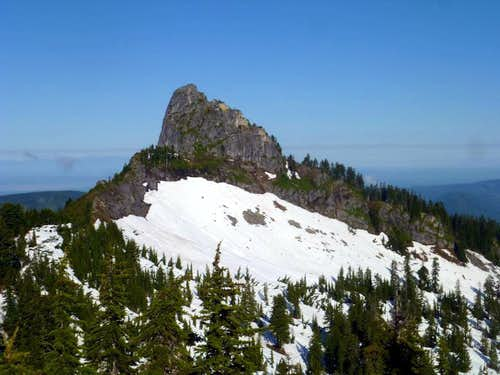 Static Peak from the east
