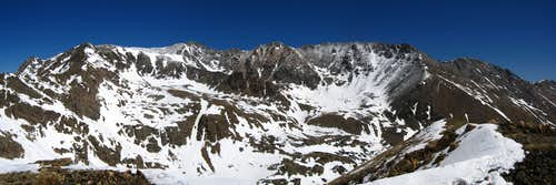 Mount Massive Panorama
