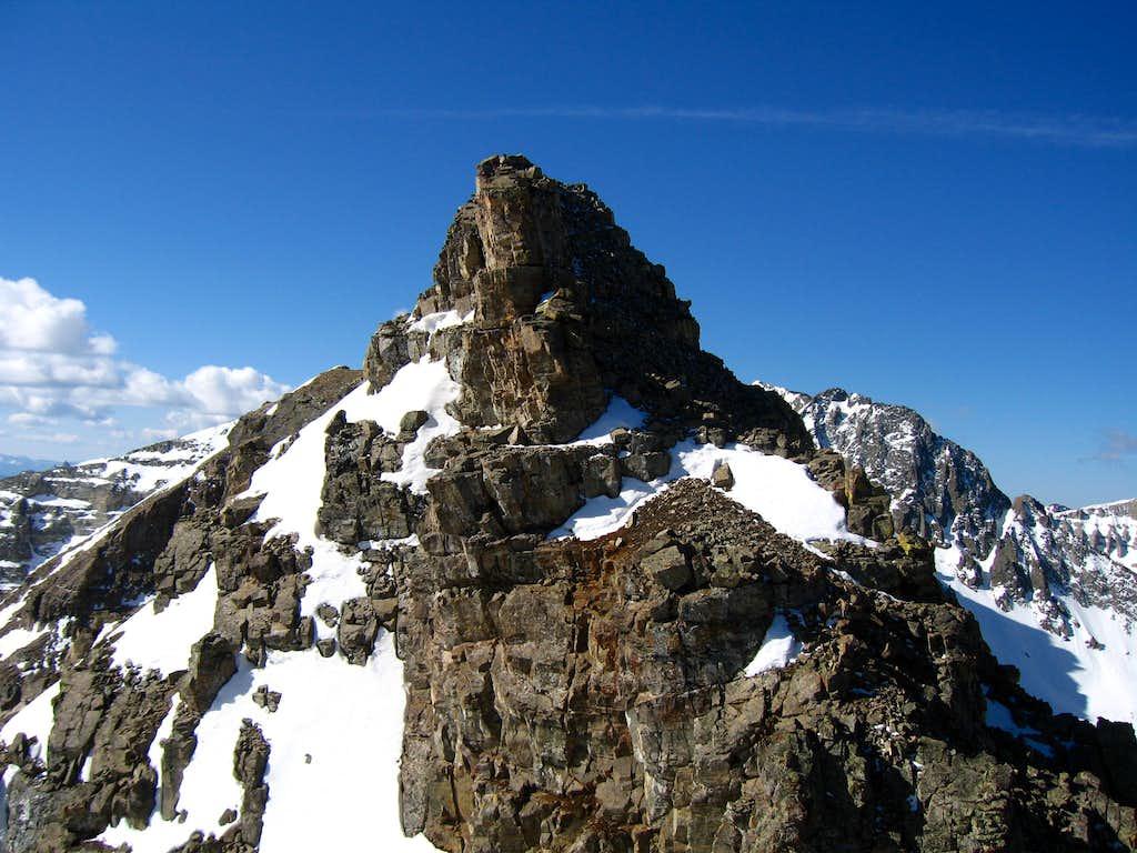 Spires on the ridge...