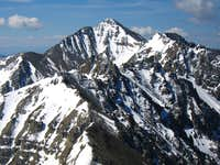Close up of Castle Peak