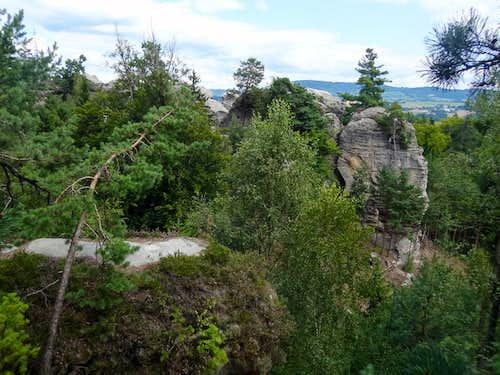 Views from Zámecká vyhlídka