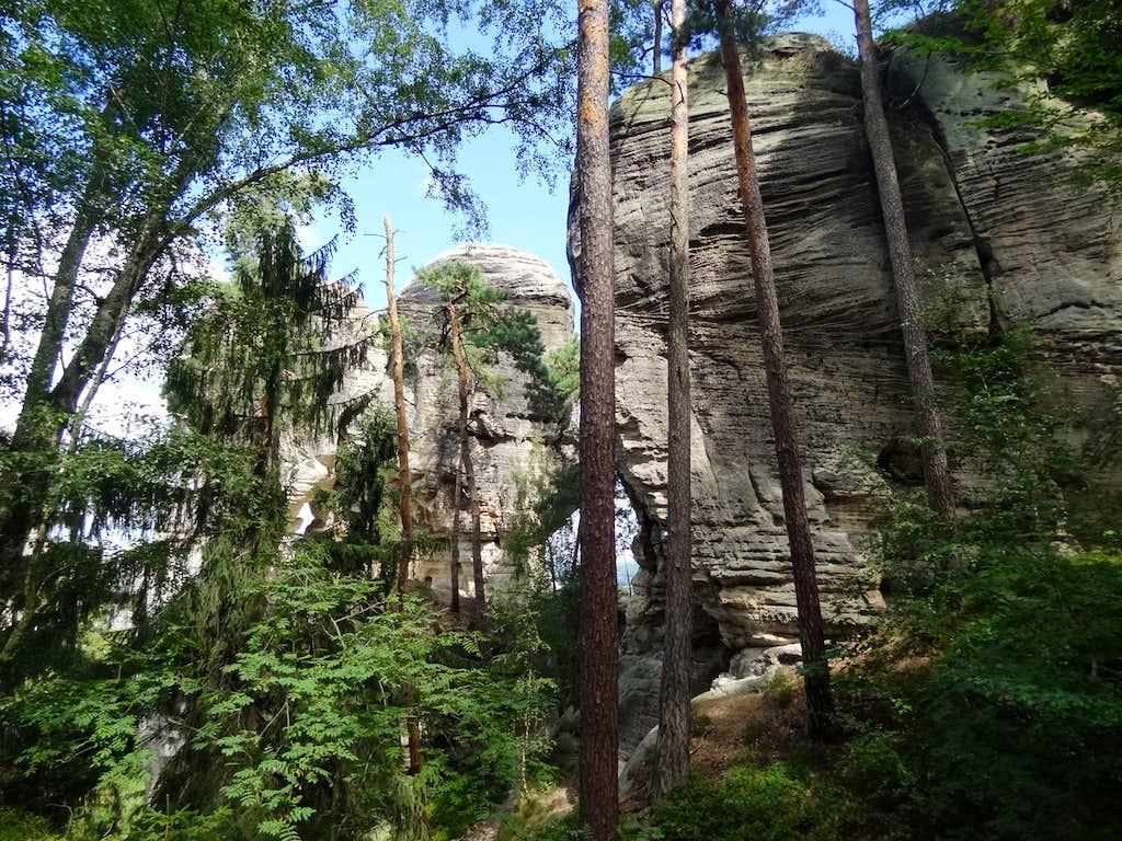 Somewhere in the heart of Hruboskalsko