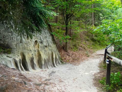Educational trail of Hruboskalsko