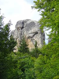 Rocks of Hruboskalsko