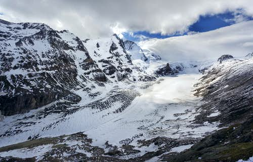 Grossglockner and Pasterze Glacier