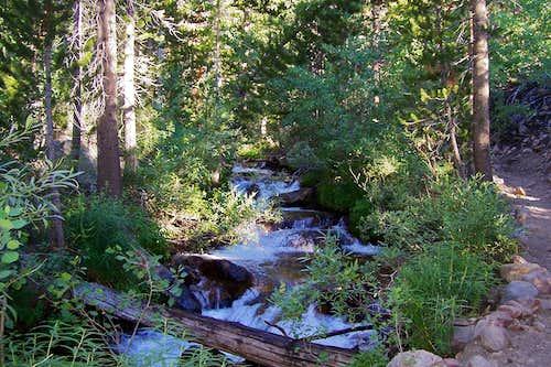 Log across stream