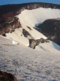 Lewis Glacier on South Sister