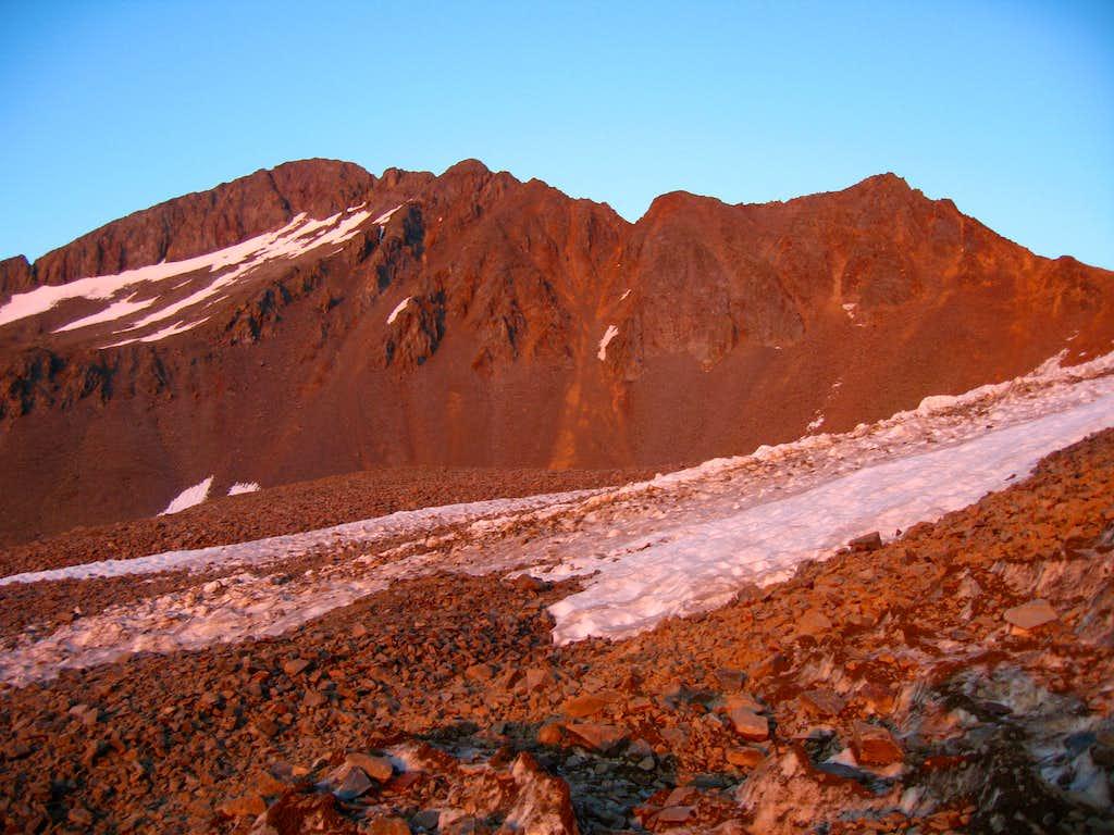 Wilson Peak alpenglow