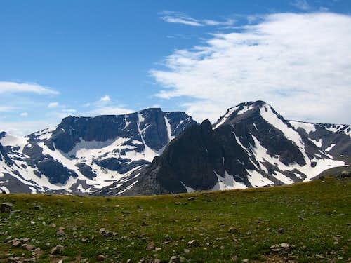 Sundance and Castle Mountains