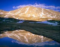 Twining Peak reflection,...