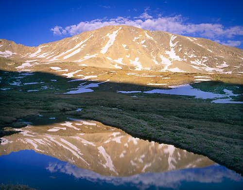 Twining Peak reflection,...