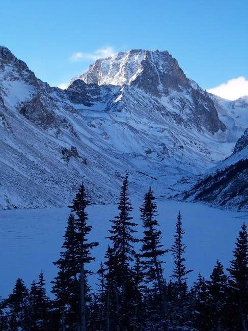 Spirit Mountain as seen from...