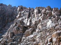 Granite Peak upper wall