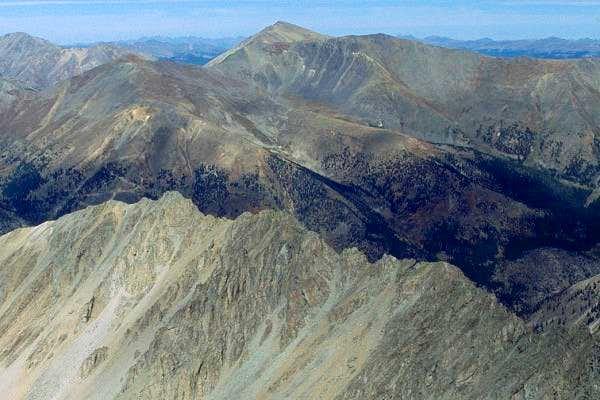 Mt. Elbert as seen from the...