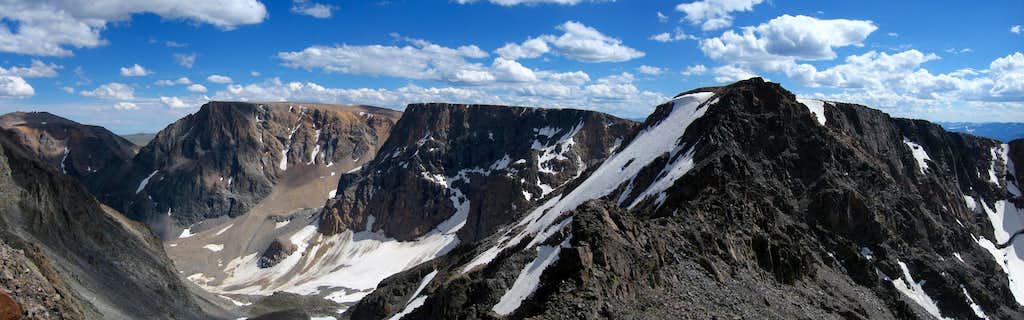 Beartooth Mountain Summit Panorama