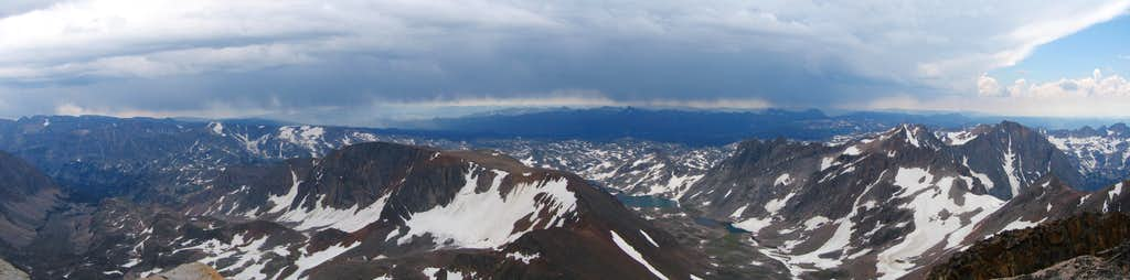 Granite Peak Summit Panorama
