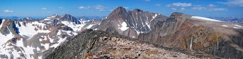 Mount Peal Summit pano