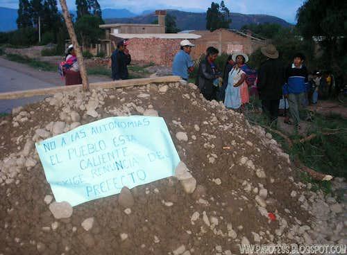 People from Cochabamba/ Bolivia