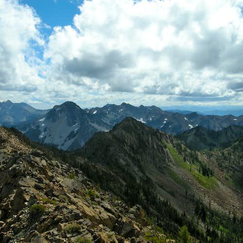 Summit Ridge of Highchair Mountain