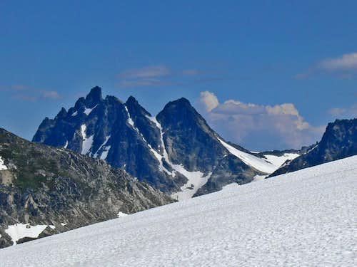 Ten Peaks to the East