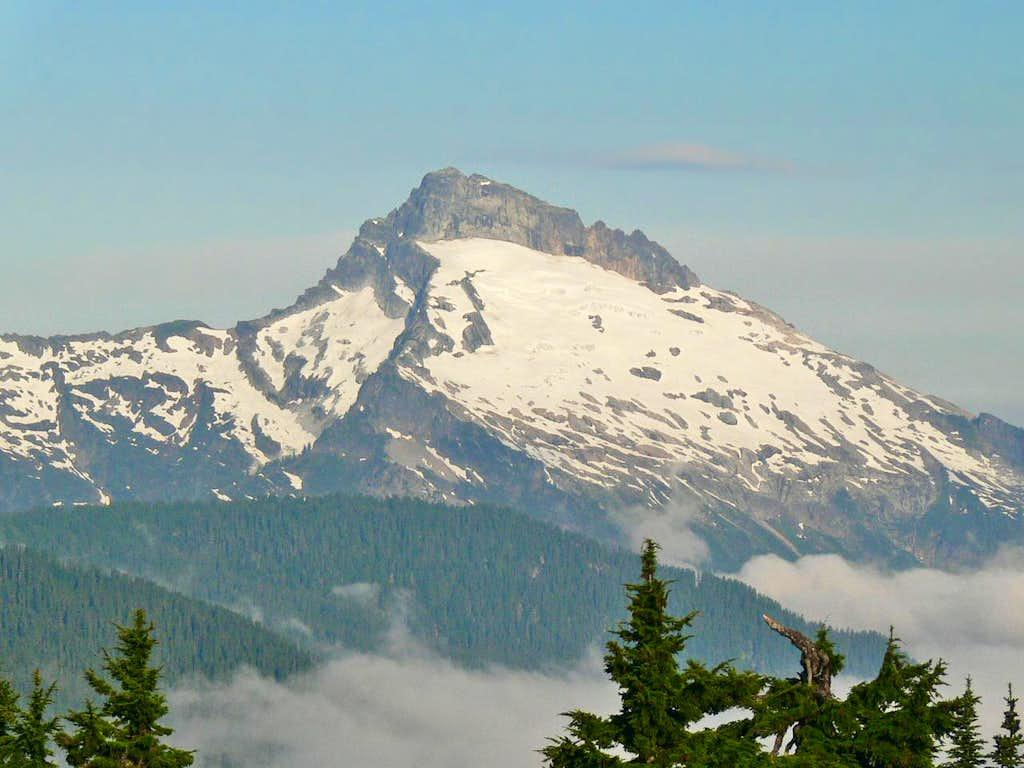 Sloan Peak to the West