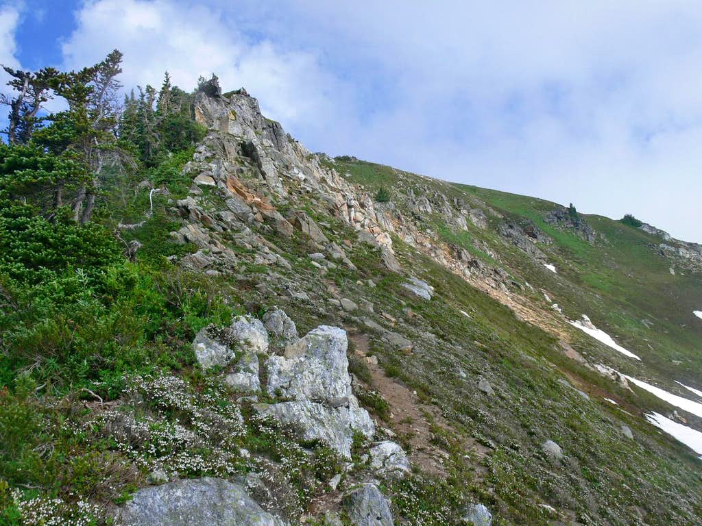 The Ridge up Portal Peak