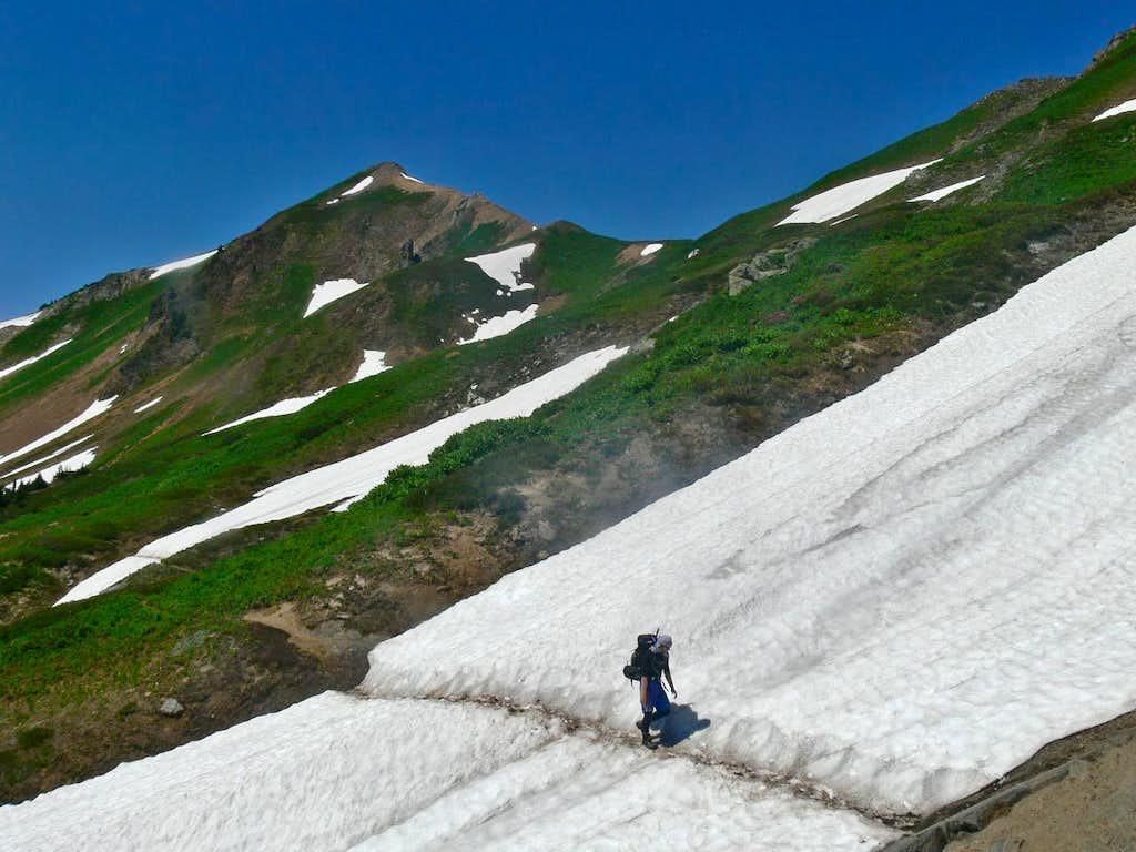 Michael with White Mountain